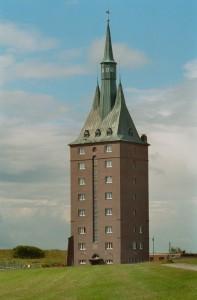 Unieke locatie:  jeugdherberg Westturm op Wangeroog